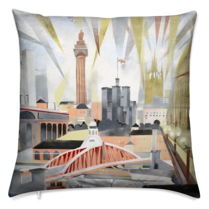 Toon Cushion by Alison Gargett