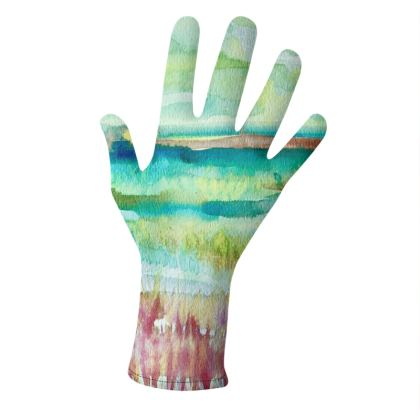 Watercolor Fields GLove set