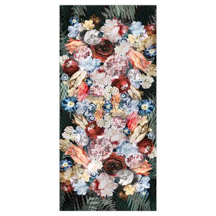 Bouquet - Silk Georgette Long Scarf