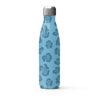 Water Leopard Print Water Bottle