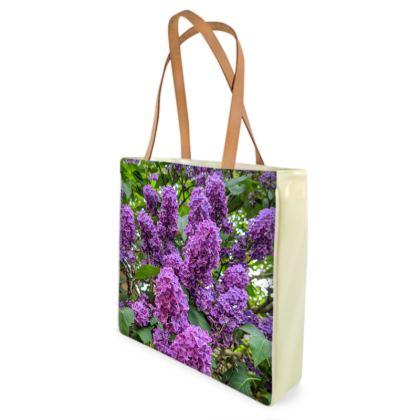 Iris Shopper/Beach Bag by Alison Gargett
