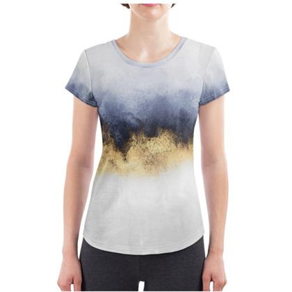 Sky Ladies Cut and Sew T Shirt