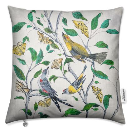 Birds & Butterflies Luxury cushion