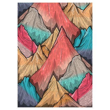 Baseball Cap - Mountain Layers