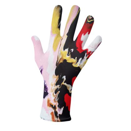Pouring Contrast Gloves Designs 1
