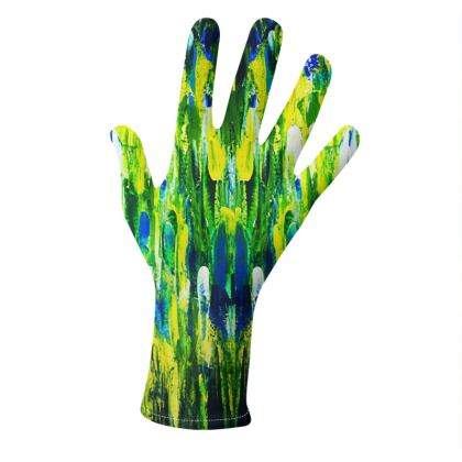 Abstract Paintings Gloves
