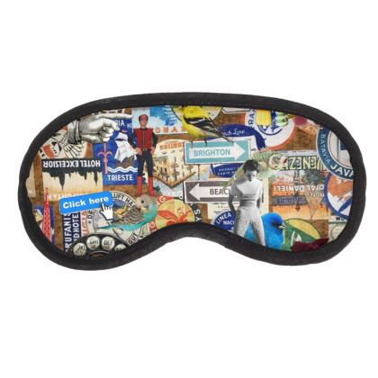 When Will We Travel Again? Eye Mask