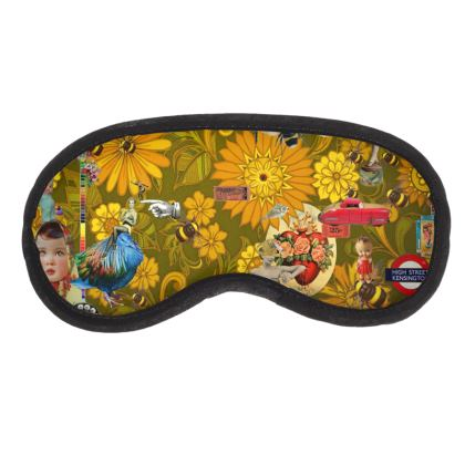 Orange Mayhem Eye Mask