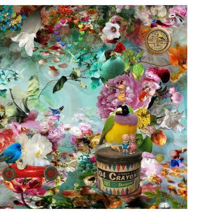 The Secret Garden Double Deckchair