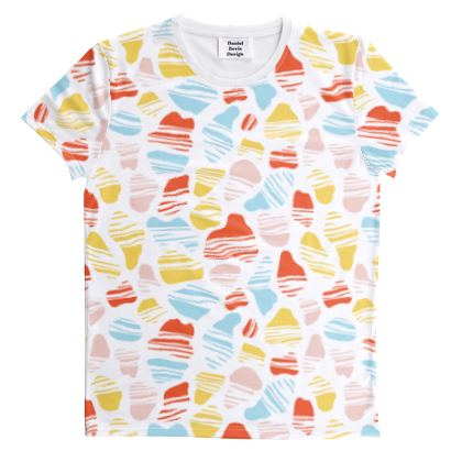 Spotted Okapi Summer Print All Over Graphic Tee