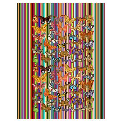 Rainbow Butterflies Double Deckchair