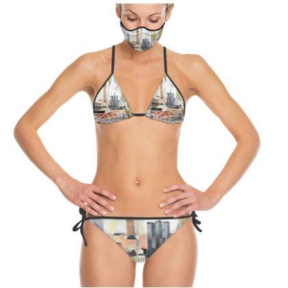 Toon Trikini Set by Alison Gargett