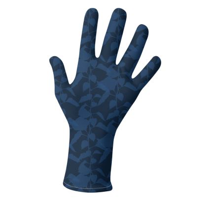 Japanese Lantern Collection (Navy & Pink) - two pairs of luxury gloves
