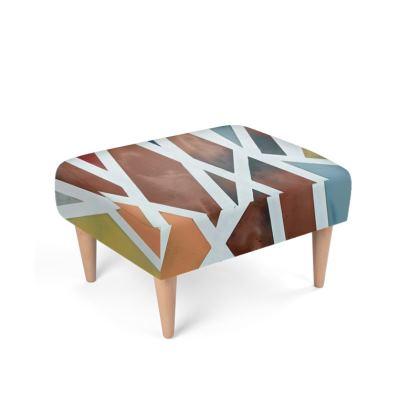 Union Footstool by Alison Gargett