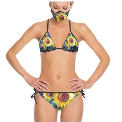 Sunflower Trikini by Alison Gargett
