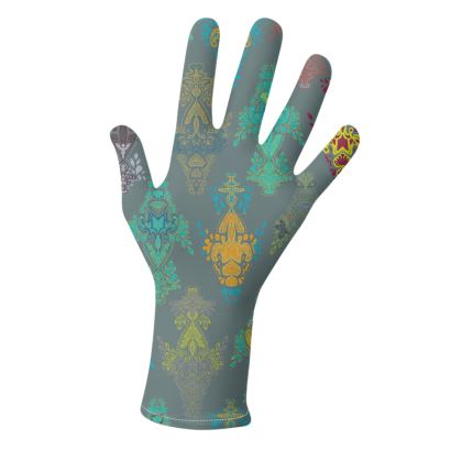 India Holi Collection (Slate & Yellow Gold) - two pairs of luxury gloves