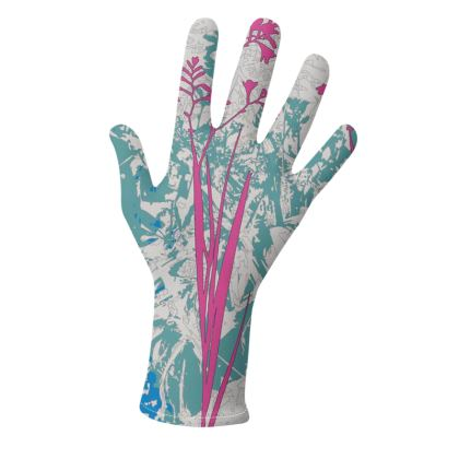 Kabukis Garden Collection* (Teal/Pink and Pink/Yellow) - two pairs of luxury gloves