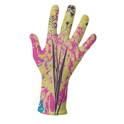 Kabukis Garden Collection* (Pink/Purple and Red/Parchment) -two pairs of luxury gloves