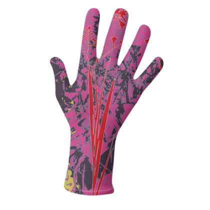 Kabukis Garden Collection** (Purple/Red and Lilac/Yellow) - two pairs of luxury gloves