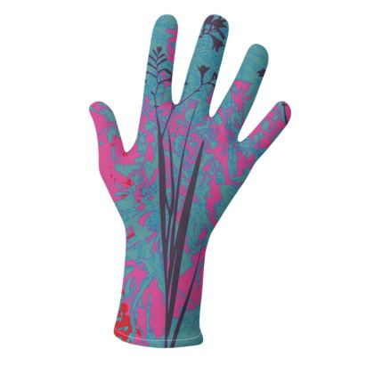 Kabukis Garden Collection** (Pink/Purple and Yellow/Parchment) - two pairs of luxury gloves