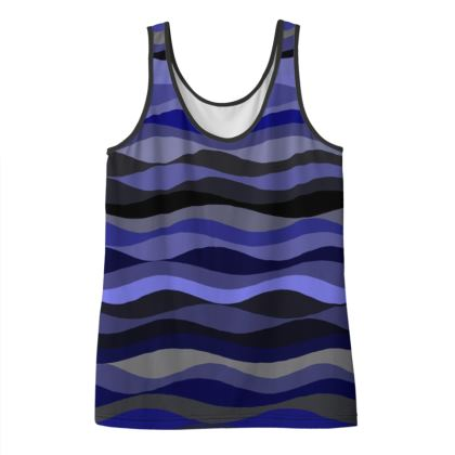 Ifollow Purple Design Vest Top