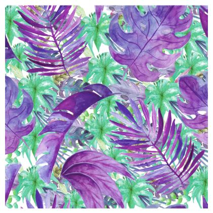 Purple Jungle Espadrilles