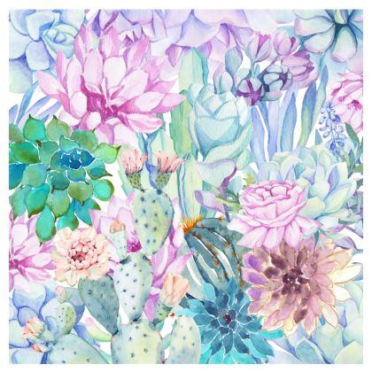 Pastel Floral Espadrilles