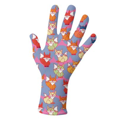 Foxy Loxy Collection (Lilac and Green) - two pairs of luxury gloves