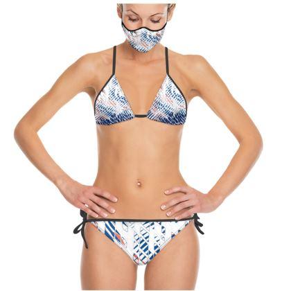 Threads Collection (Blue) - luxury Trikini
