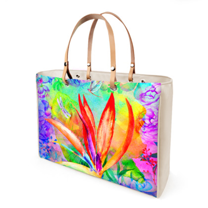 Bird of Paradise Handbag