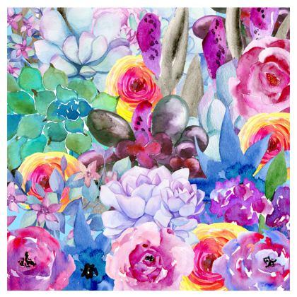 Spring Colourful Floral Espadrilles