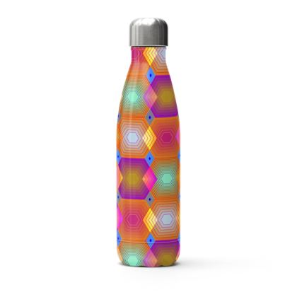 Geometrical Shapes Collection Stainless Steel Thermal Bottle
