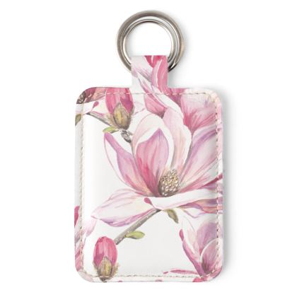 Magnolia Key Ring