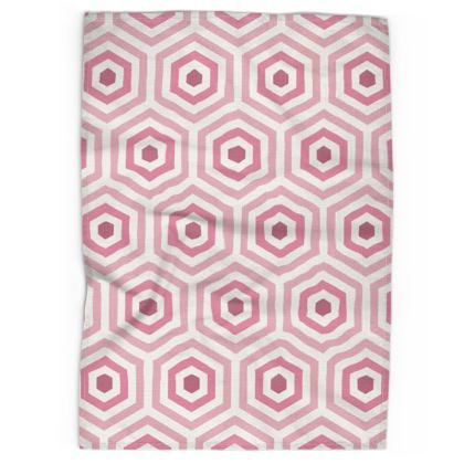 Geo Hive Tea Towel