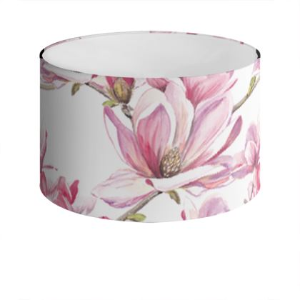 Magnolia Drum Lamp Shade
