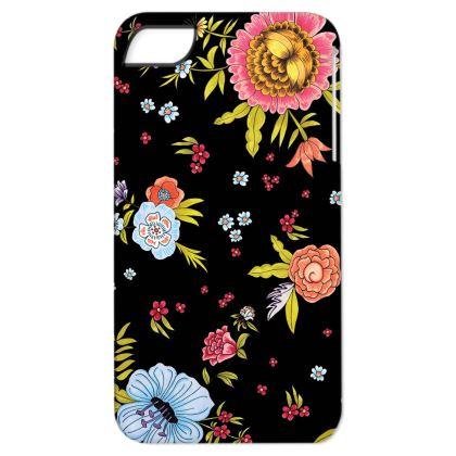 Black Floral Boho iPhone 6/ 6 plus Case