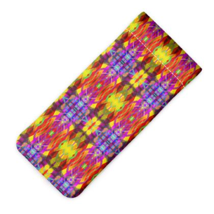 HARLEQUIN GLASSES CASE POUCH