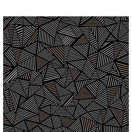 Ab Linear Black Gold 2 color Face masks
