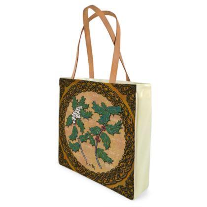Celtic Holly Shopper Bag