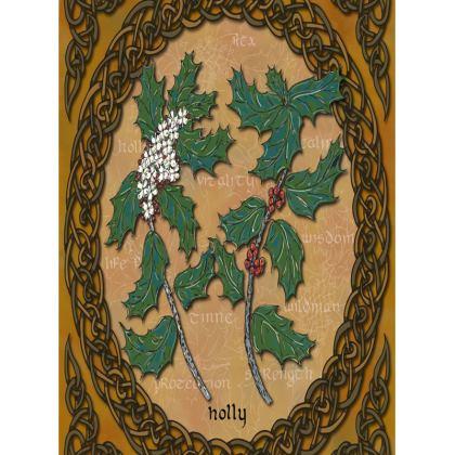 Celtic Holly Tray