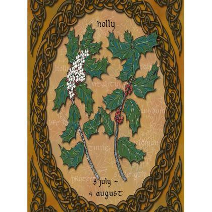 Tree Calendar Holly Tray