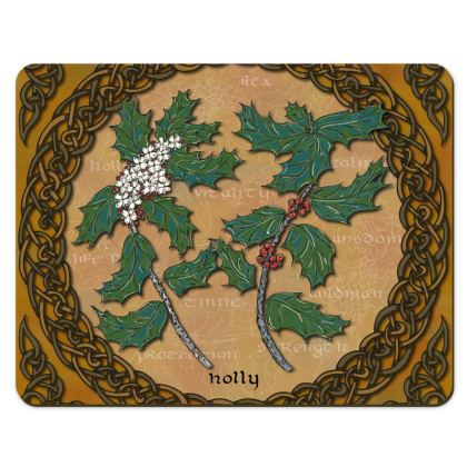 Celtic Holly Placemat Set