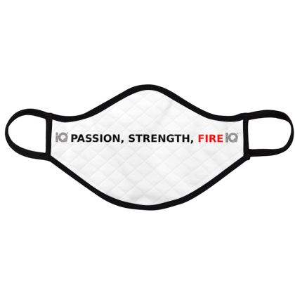 PASSION STRENGTH FIRE FACE MASK