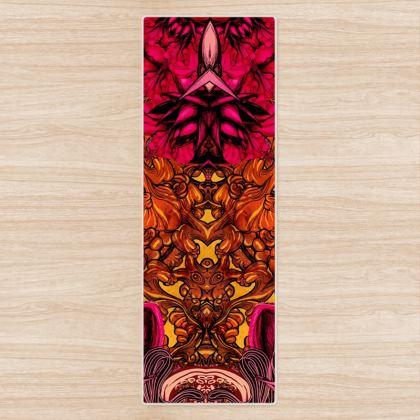 Kaleidoscope 3 Yoga Mat