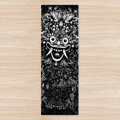 Bali Mask Yoga Mat