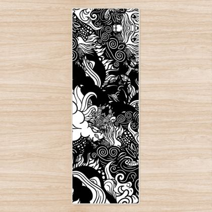 Floral Yoga Mat