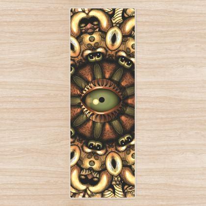 Mandala Eye 1 Yoga Mat