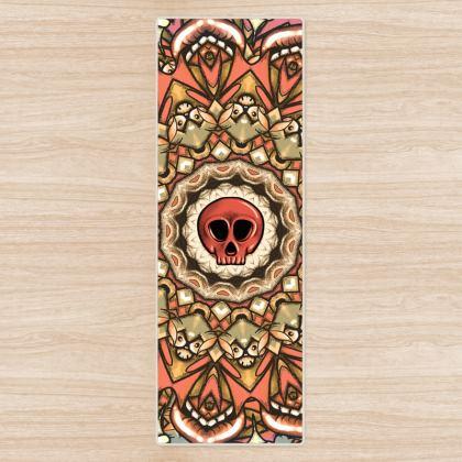 Mandala Skull Yoga Mat