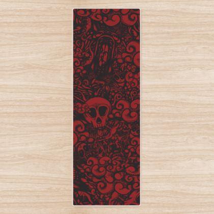 Dark Doodles Yoga Mat