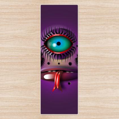 Purple Monster Yoga Mat